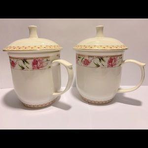Coffee tea mug 2 pieces